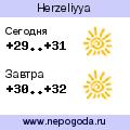 Прогноз погоды в городе Herzeliyya