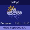Прогноз погоды в городе Tokyo