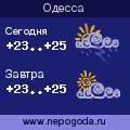 Прогноз погоды в городе Одесса