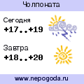 Прогноз погоды в городе Чолпоната