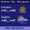 Прогноз погоды в городе Abraham Bay Mayaguana