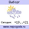 Прогноз погоды в городе Выборг