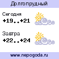 Прогноз погоды в городе Долгопрудный