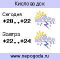 Прогноз погоды в городе Кисловодск