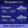 Прогноз погоды в городе Владивосток