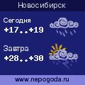 Прогноз погоды в городе Новосибирск