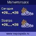 Прогноз погоды в городе Магнитогорск