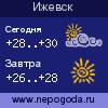 Прогноз погоды в городе Ижевск