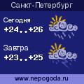 Прогноз  погоды  в  городе  Санкт-Петербург