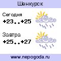 Прогноз погоды в городе Шенкурск