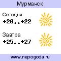 Прогноз погоды в городе Мурманск