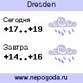 Прогноз погоды в городе Dresden
