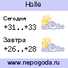 Прогноз погоды в городе Halle