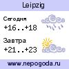 Прогноз погоды в городе Leipzig