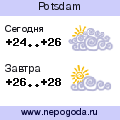 Прогноз погоды в городе Potsdam