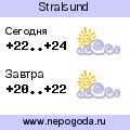 Прогноз погоды в городе Stralsund